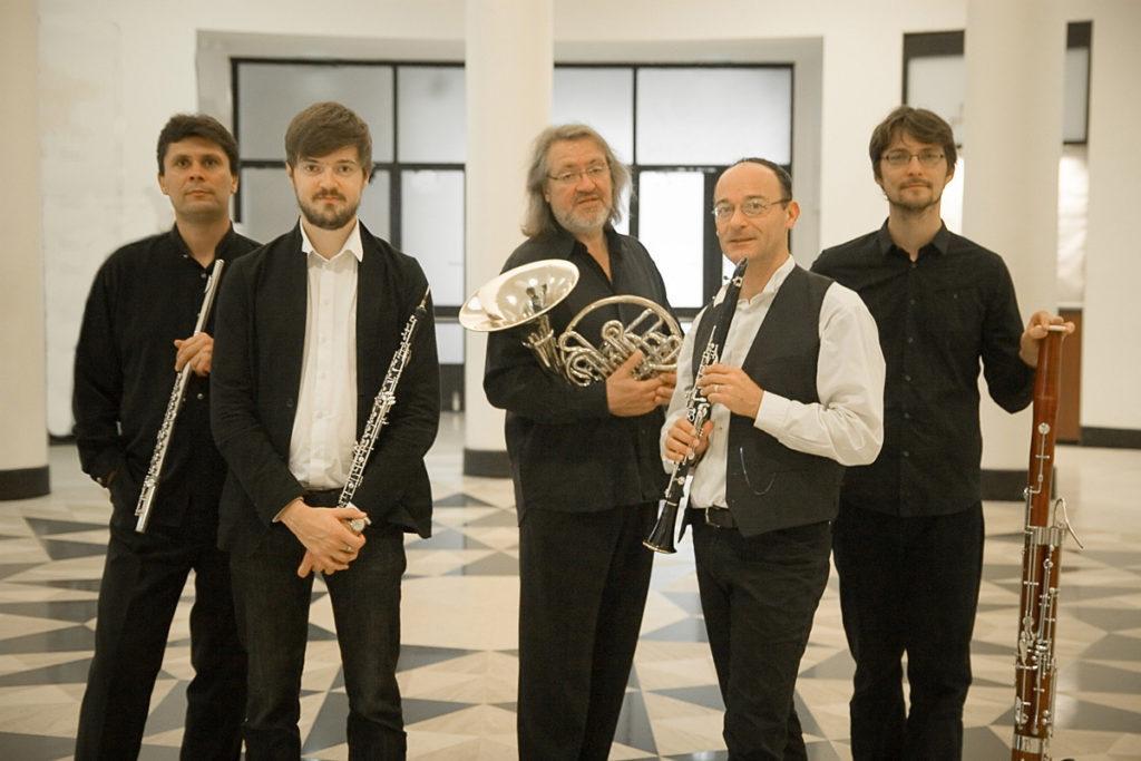 Quintette à vent des solistes de l'Orchestre de Paris